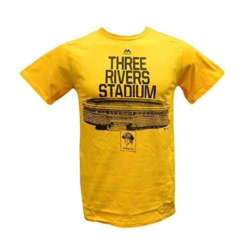 - Majestic Mens MLB Prime Time Comeback T-Shirt (S, Pittsburgh Pirates)