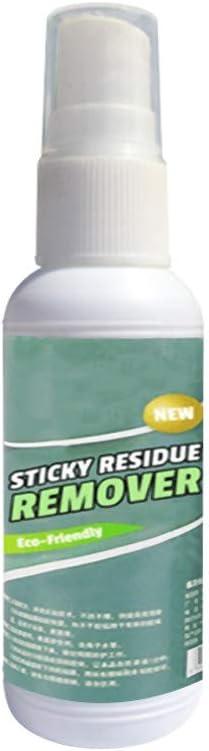 WARMWORD Removedor de residuos pegajosos,Ideal para Usar en el Taller casero o para la Limpieza de automóviles Spray De Limpieza De Uso Múltiple para Plástico De Vidrio para El Hogar