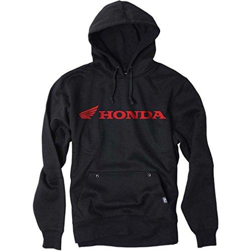 Honda Hoody Sweatshirt (Factory Effex - Factory Effex Hoody - Horizontal Honda - Black - Large)