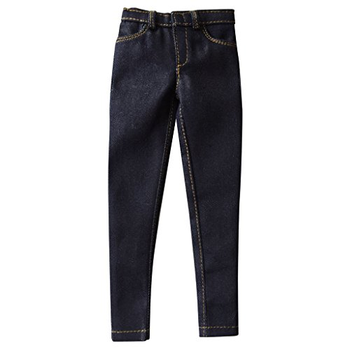 1/6th Men's Black Jeans Pants Fit For 12 Male Figure Body Toys