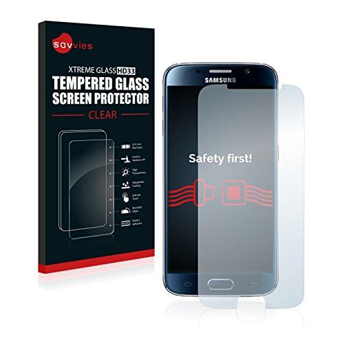 Panzerglas Glasfolie Samsung Galaxy S6 Glas Schutzfolie - 9H Hartglas