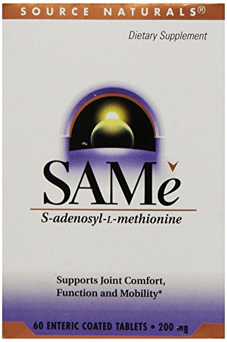 (SOURCE NATURALS Same 200 Mg Enteric Coated Tablet, 60 Count)