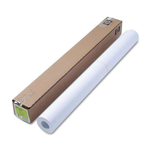 Format Roll Paper 1 Wide - HP - Designjet Bright White Inkjet Paper, 24 lbs., 36amp;quot; x 150 ft, White - Sold As 1 Roll - To ensure the quality of your output from start to finish, rely on HP printing material for Designjet printers.