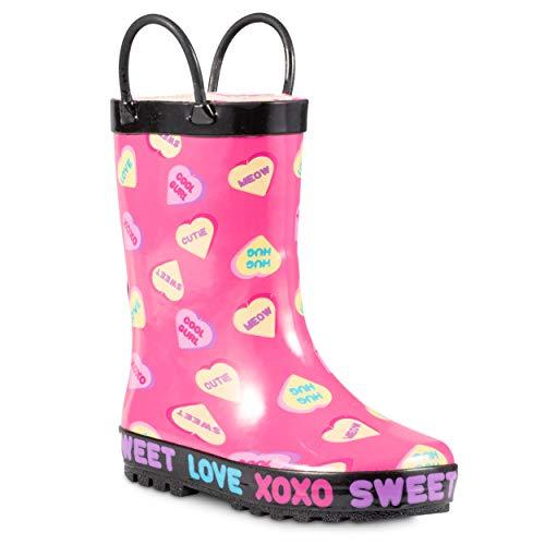 teen rain boots - 8
