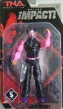 TNA Wrestling Deluxe Impact Series 5 Action Figure Jeff Hardy