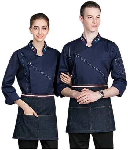 制服 作業服 男女兼用 長袖 コート メンズ ジャケット インディゴ デニム ワーキングウエア arukawear_petter