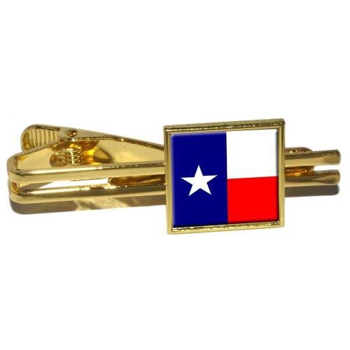 Texas Flag Square Clip Clasp