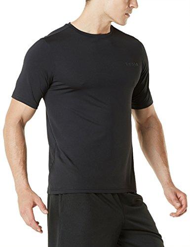 Tesla Men's HyperDri Short Sleeve T Shirt Athletic Cool Running Top MTS03 / MTS04 / MTS05