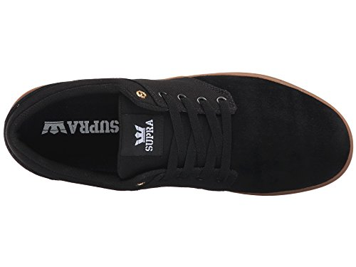 Supra Chino Court Skate Shoes Black Gum Size Mens US 9.5 rfwfP