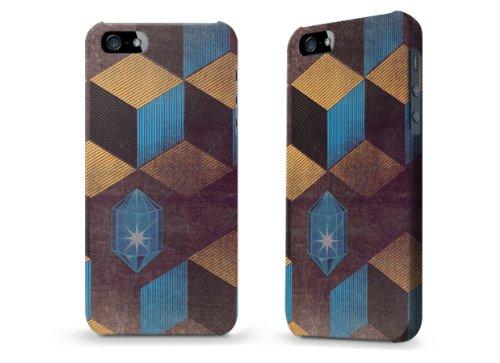 """Hülle / Case / Cover für iPhone 5 und 5s - """"Cubes Gems"""" von Brent Williams"""