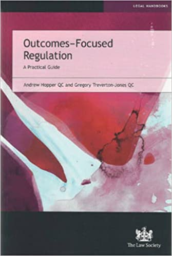 Outcomes-Focused Regulation: A Practical Guide