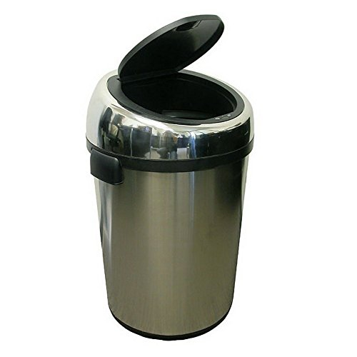 iTouchless 23 Gallon(S) Stainless Steel Indoor Touchless Garbage Can