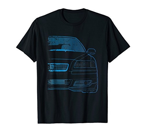 Classic Racing S60-R Turbo Blue Gradient Tshirt