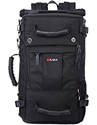 KAKA Daypack Backpack Bagpack Climing Hiking Camping Sports Bag 35L Black #2050