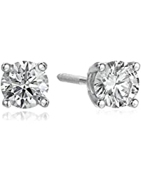 IGI Certified 14k Gold Lab Created Diamond Stud Earrings (1/4-4 cttw, I-J Color, SI1-SI2 Clarity)