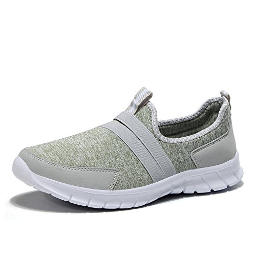 Green Athletic Shoes Walking Out Women Slip STQ Breathable Casual On Sneakers Light Work q7ZzFx4