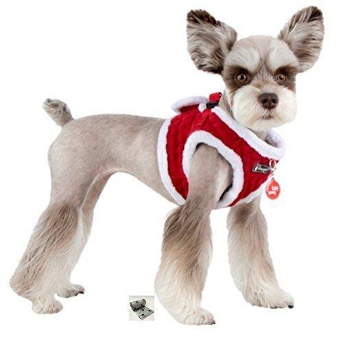 Puppia Santa's Reindeer Step in Jacket Vest