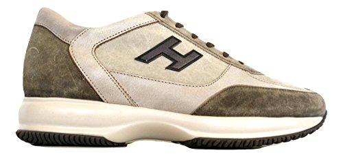 HXM00N0C6505LX412F Beige e Interactive Hogan New H Scarpe Uomo Marrone Vintage 6SxwBT