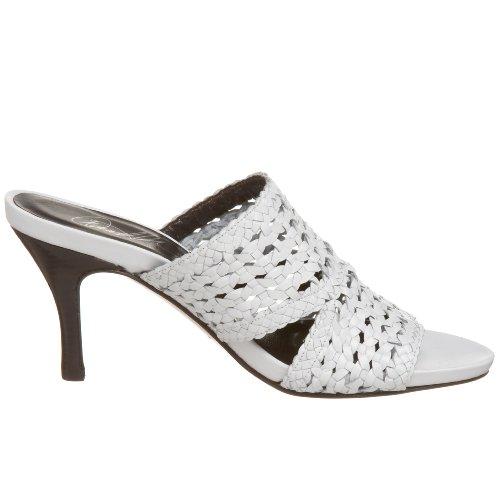 Donald J Pliner Women Alita-34 Woven Slide White