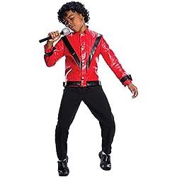 Charades Michael Jackson Thriller Children's Costume Jacket, Large