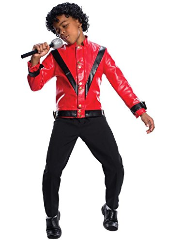 Charades Michael Jackson Thriller Children's Costume Jacket, Large -