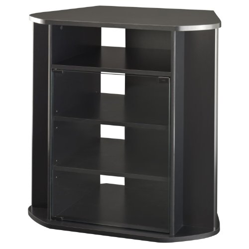 Visions Collection Tall Corner TV Stand (Tv Stand Tall Narrow)