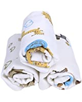 """Baby Washcloths Bamboo, Organic, Luxury,Best for Reusable Baby Wipes-3 pk 12""""*12""""Inches"""