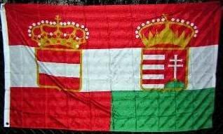 3'x5' Flag of AUSTRIA-HUNGARY, Austro Hungarian Austro-Hungarian Austria - Hungary, Austria Hungary