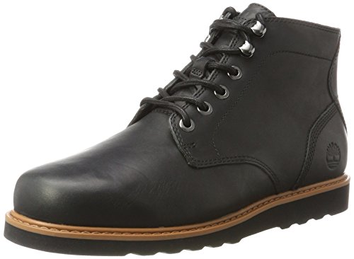 Timberland Herren Newmarket Lug Plain Toe Chukka Boots Schwarz (Jet Black)