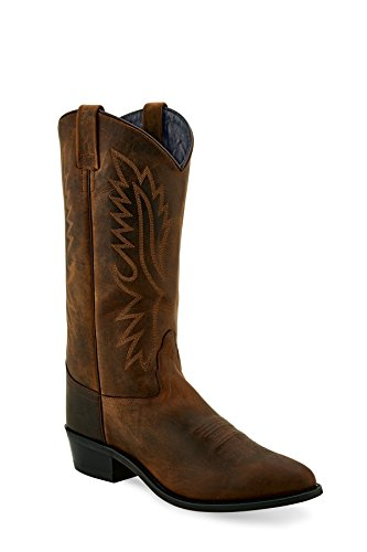 Image of Old West Boots Men's Del Rio Brown Apache 9.5 EE US EE - Wide
