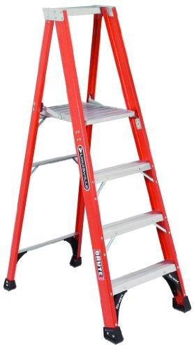 fiberglass platform stepladder