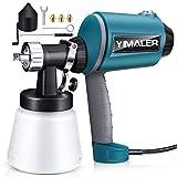 Yimaler Paint Sprayer 830ml/min, 450W Airless Spraying Electric Spray Gun with 3 Chrome-Plated