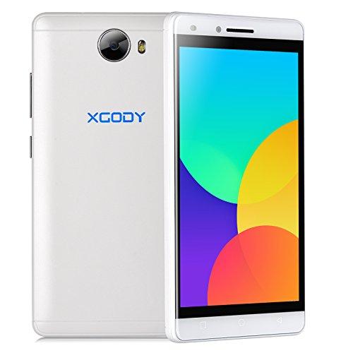 """Xgody X11 3G/2G Unlocked Cell Phone 1GB/8GB 5"""" qHD Dual SIM"""