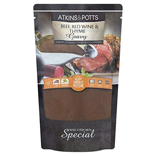 Atkins & Potts Free From Beef Gravy with Red Wine & Thyme 350g