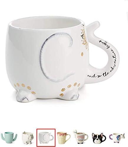 White Ceramic Coffee Tea Mugs product image