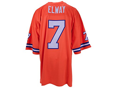 John Elway Denver Broncos Orange Throwback Jersey (Denver Broncos Throwback Jersey)