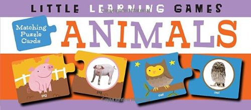 Matching Puzzle Cards: Animals (Little Learning Games: Matching Puzzle Cards)