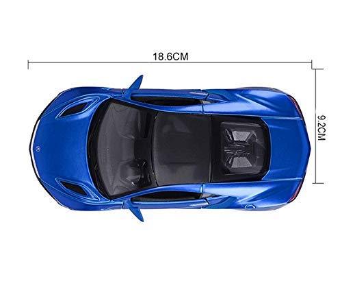 Maisto 1:24 2018 Acura NSX Sportwagen Legierung Automodell Ziehen Auto Sedan Boy Auto Modell Sammlung Ornamente Simulation Miniaturmodelle Fahrzeuge Color : Blue