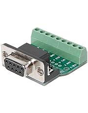 KLOVA DB9 Adapter, DB9 Mannelijke/Vrouwelijke D-SUB Adapter Plaat Connector RS232 Serieel naar Terminal Board Signaal Module
