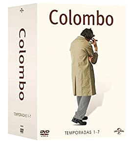 Colombo (Megapack Serie Completa) La Colección Completa 25 Dvd`s - Complete Series [ Non-usa Format: Pal -Import- Spain ]