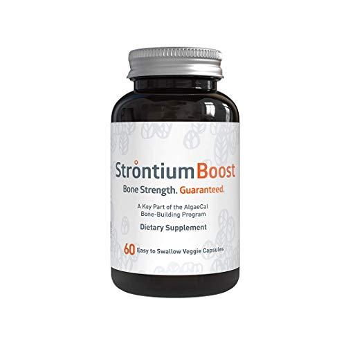 AlgaeCal Strontium Boost, Building Blocks for Strong Bones, Triple Your Results with AlgaeCal Plus Calcium, Natural…