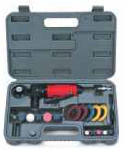 Mini Air Angle Die Grinder Tool Kit 20,000 rpm 1/4'' Collet