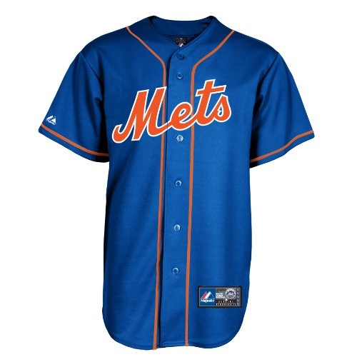 David Wright #5 New York Mets MLB Men's Alternate Jersey Blue (Small)