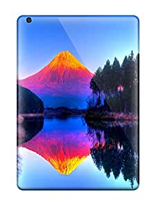 New Cute Funny Psychedelic Mountain Case Cover Ipad Air Case Cover