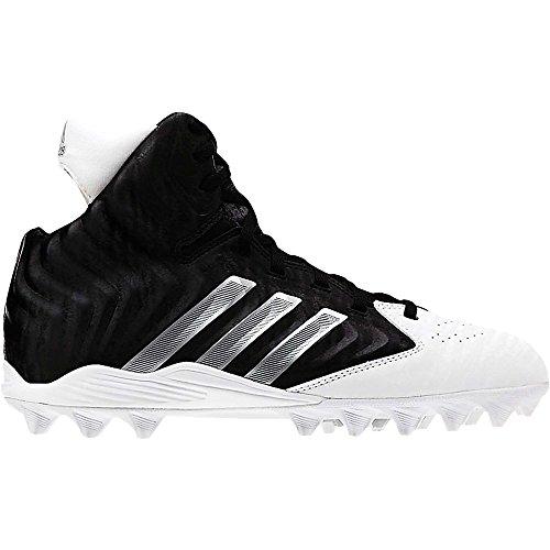 Adidas Filthyquick Md Junioren Voetbalcleats 11 Zwart-platina-wit