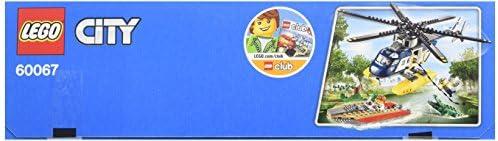 LEGO City - 60067 - Jeu De Construction - La Poursuite En Hélicoptère