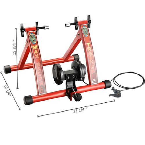 1113 RAD Cycle Products Max Racer 7 Levels of Resistance Portable Bicycle Trainer Work Out Machine 7