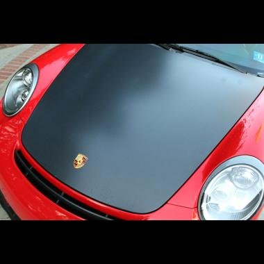 Porsche 997 Carbon Fiber Look Hood GT2 RS Style Perfect OEM Fitment
