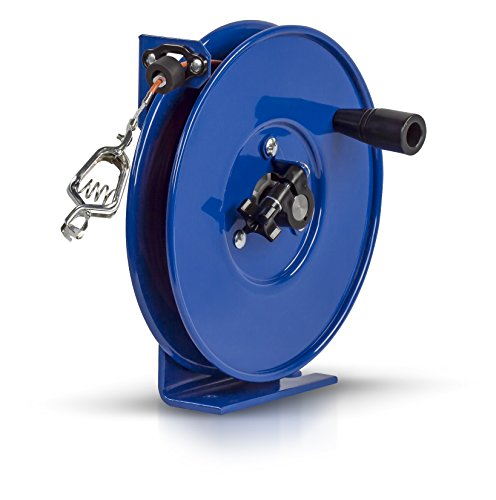 - Coxreels SDH-100 Spring Rewind Static Discharge Hand Crank Cable Reel: 100' Cable