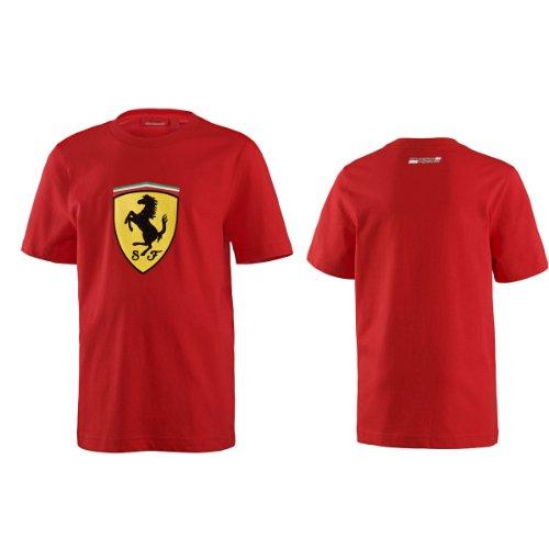 ferrari-red-shield-classic-tee-shirt-xlg